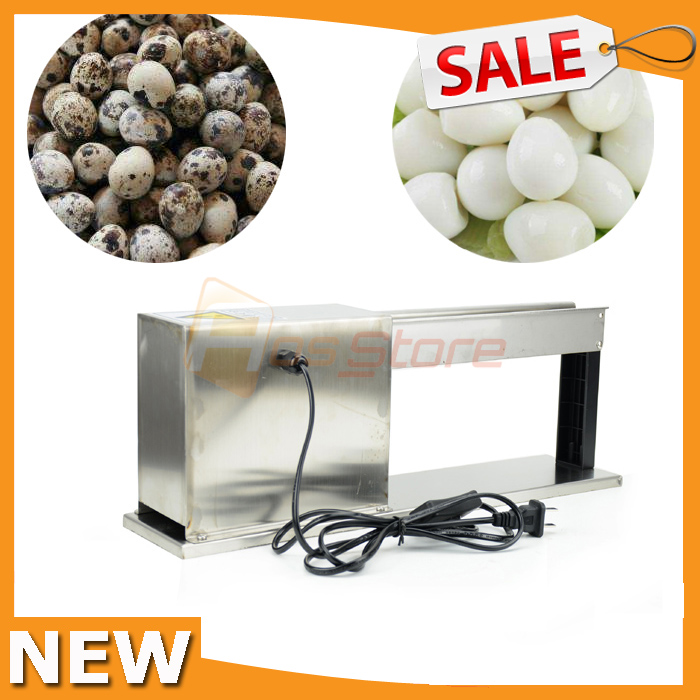 NEW Household Semi Automatic Boiled Quail Egg Peeler Machine Electric Huller Sheller Machine Egg Shell Remove