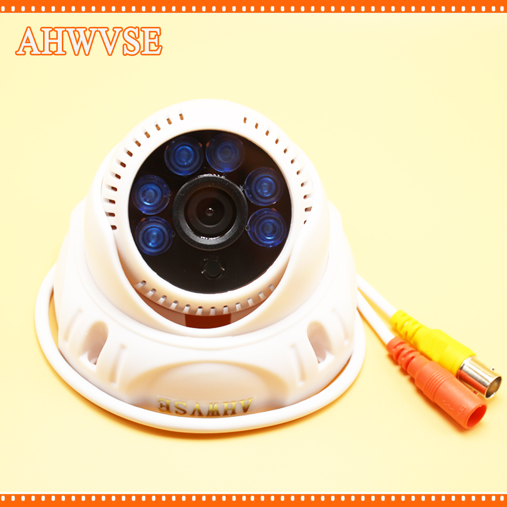AHWVSE Free Shipping HD 1920 x 1080P 1.0 MP 720P 2.0 MP 960P AHD Camera Indoor Home Security CCTV Camera 3.6MM