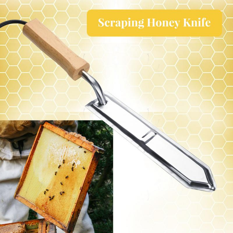 110V 220V Electric Uncapping Knife Bee Beekeeping Honey Cutter Stainless Steel Scrape Bee Extractor Beekeeping Tools