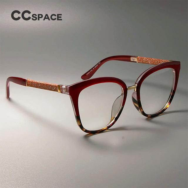 Tienda Online CCSPACE señora Square gafas marcos para las mujeres ...