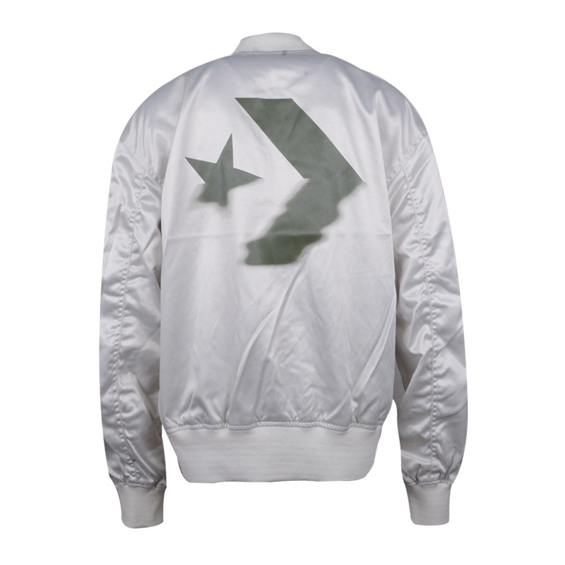 5fbf6fab569397 Original New Arrival 2018 Converse Reversible Oversized MA 1 Bomber Women s  Jacket Sportswear-in Running Jackets from Sports   Entertainment on ...