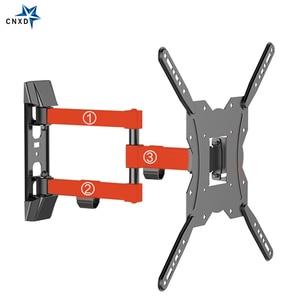 Image 2 - Ultra Slim TV do montażu na ścianie Full Motion przegubowe ramię obrotowe i pochylenia TV uchwyt do LCD, LED, 3D telewizor plazmowy