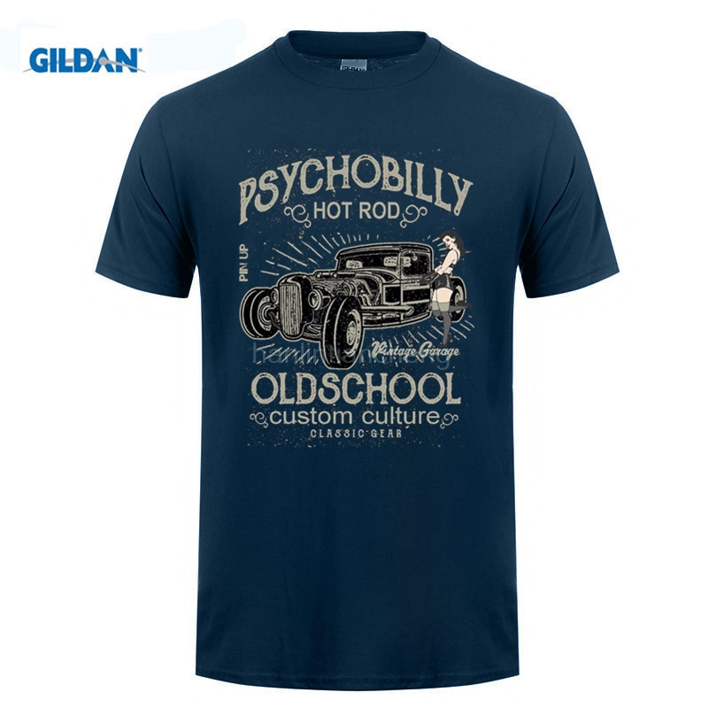 GILDAN Summer T Shirt Cheap Sale 100 % Cotton T Shirt Hot Rod ...