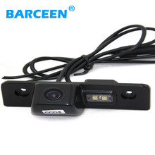 Free Shipping Rear View Camera Car Reversing Camera with WaterProof IP69 + Wide Angle 170 Degree CCD For Skoda Octavia