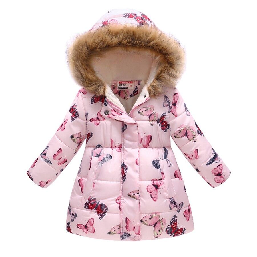 0126d1775 High Quality Children Jacket Outerwear Girl Winter Warm Butterfly Hoodie  Baby Coat Parka Toddler Kids Winter Jacket 4 5 6 8 Year - aliexpress.com -  imall. ...