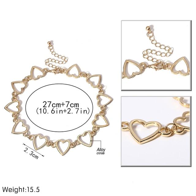 Amazemark Royal Heart Choker Necklace 3