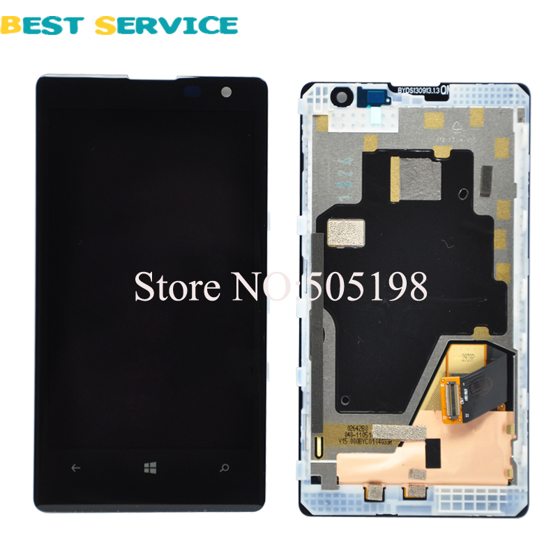 5Pcs/lots For Nokia Lumia 1020 LCD Display with Touch Screen Digitizer Assembly + Frame Black Color Free Shipping 10pcs lots for lg d820 d821 lcd screen display touch screen digitizer with frame assembly black free shipping