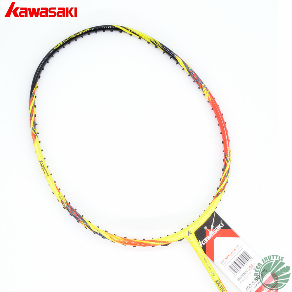 2018 New Half Star Genuine Kawasaki Full Carbon Badminton Racket Parts Of A Tennis Racquet Detailed Description And Diagram Best Buys Raquette With Free Gift In Rackets From Sports