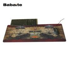 Babaite резиновая Мышь Pad Notbook мир Майки компьютерный стол Мыши компьютерные клавиатура Ковры для игр 300*600 мм, 300*700 мм, 300*800 мм, 300*900 мм