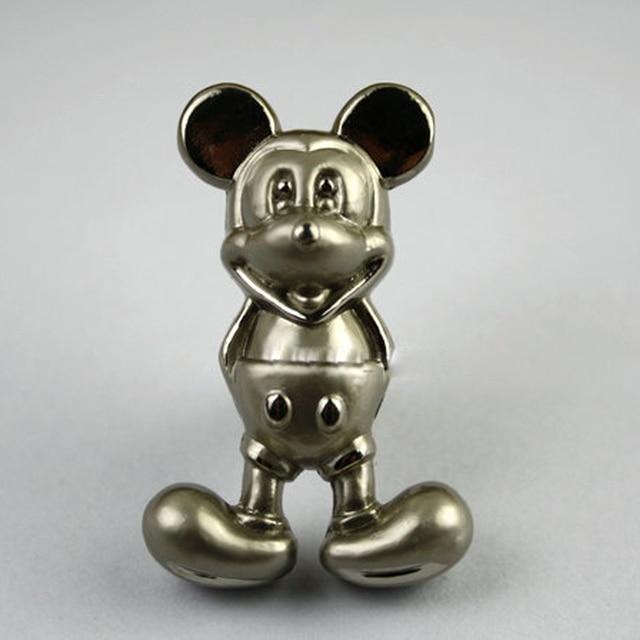 10 unids Plata Mickey Mouse Perillas Armario Muebles Del Gabinete de ...