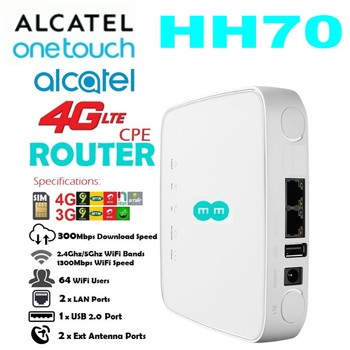 Alcatel LinkHub HH70 EE HH70V Cat 7 Wireless Router.4G Cpe 4G LTE Router