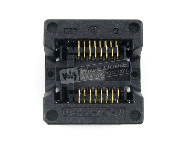 module SOP16 SO16 SOIC16 OTS-16(20)-1.27-01 Enplas IC Test Burn-In Socket Programming Adapter 5.4mm Width 1.27mm Pitch import ots 28 0 65 01 burning seat tssop28 test programming