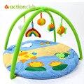 Desenhos animados Esteira Do Jogo Do Bebê Brinquedo Do Bebê 0-1 Anos de Jogo Tapete Infantil Educacional Enigma Presente Ginásio Jogo Cobertor Rastejando Mat Tapete brinquedos