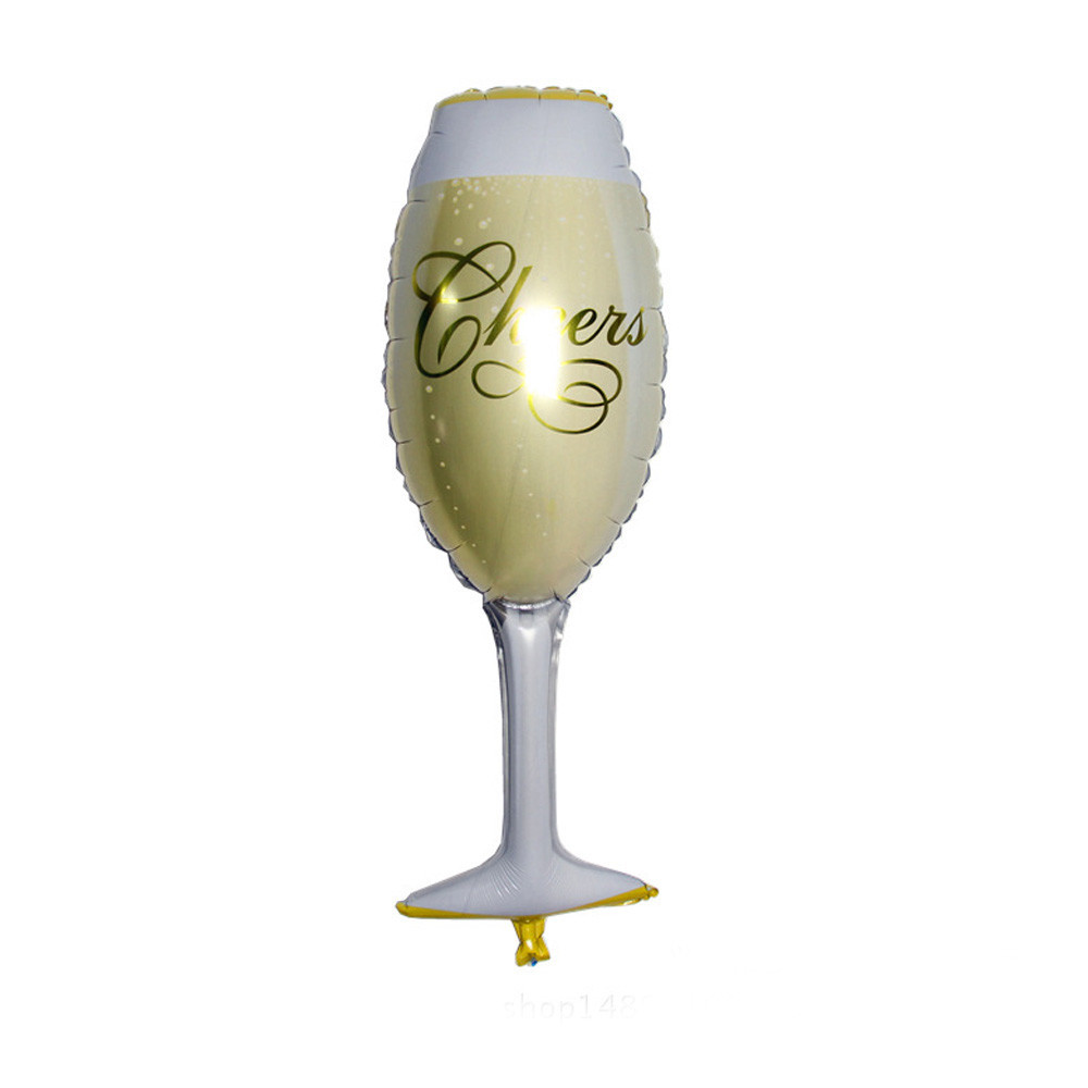Champagne Foil Balloons 6