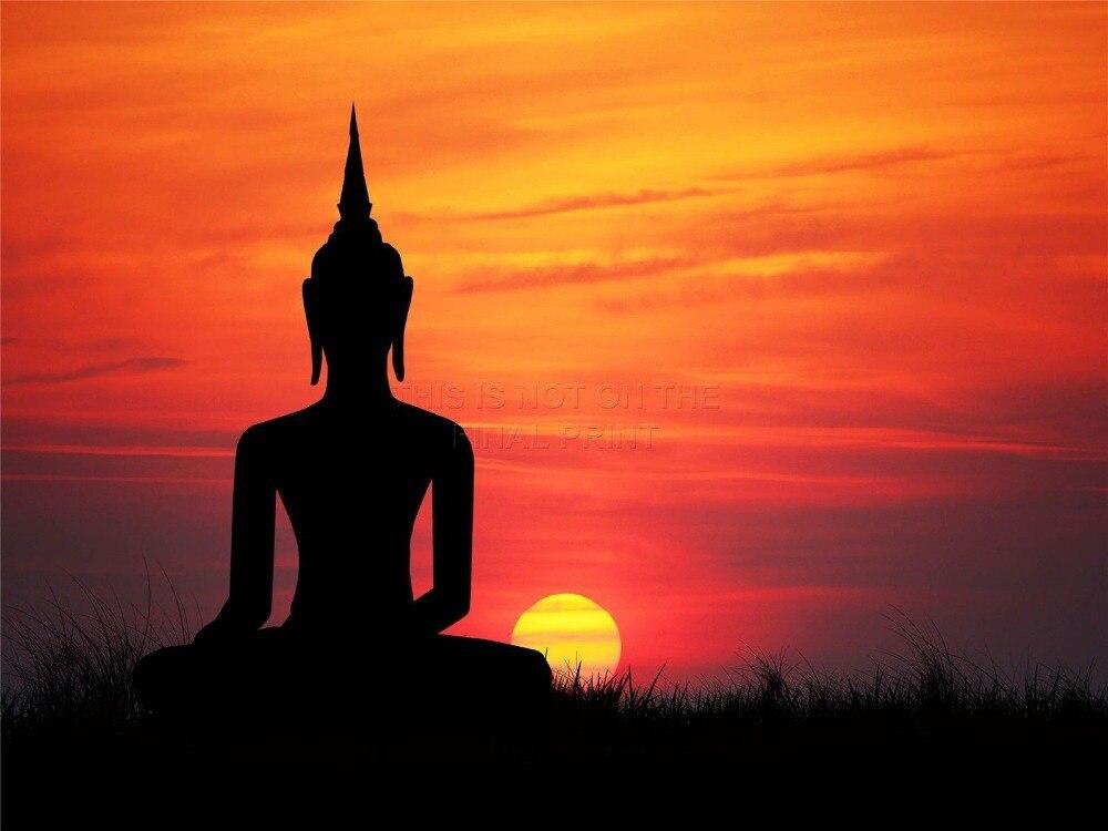 Simple Buddha Painting