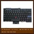Клавиатура США Черный Замена для Lenovo IBM T60 T60P T61 T61P R60 R61 T400 R400 W500 98% Новый
