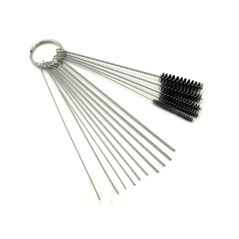 Car And Motorcycle Carburetor Needle Cleaning Brush + Cleaning Kit 15in 1 Repair Tools Washer