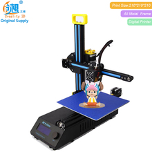 3D Printer Kit CREALITY 3D CR-8 Full Metal Frame Cheap 3d printer DIY With Free Filament Support printer 3d laser engraving