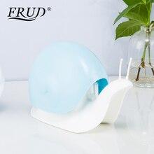 FRUD Snail shape Soap Dispenser Cosmetics Bottles Bathroom Hand Sanitizer Shampoo Body Wash Lotion Bottle Empty Bottle Bottle
