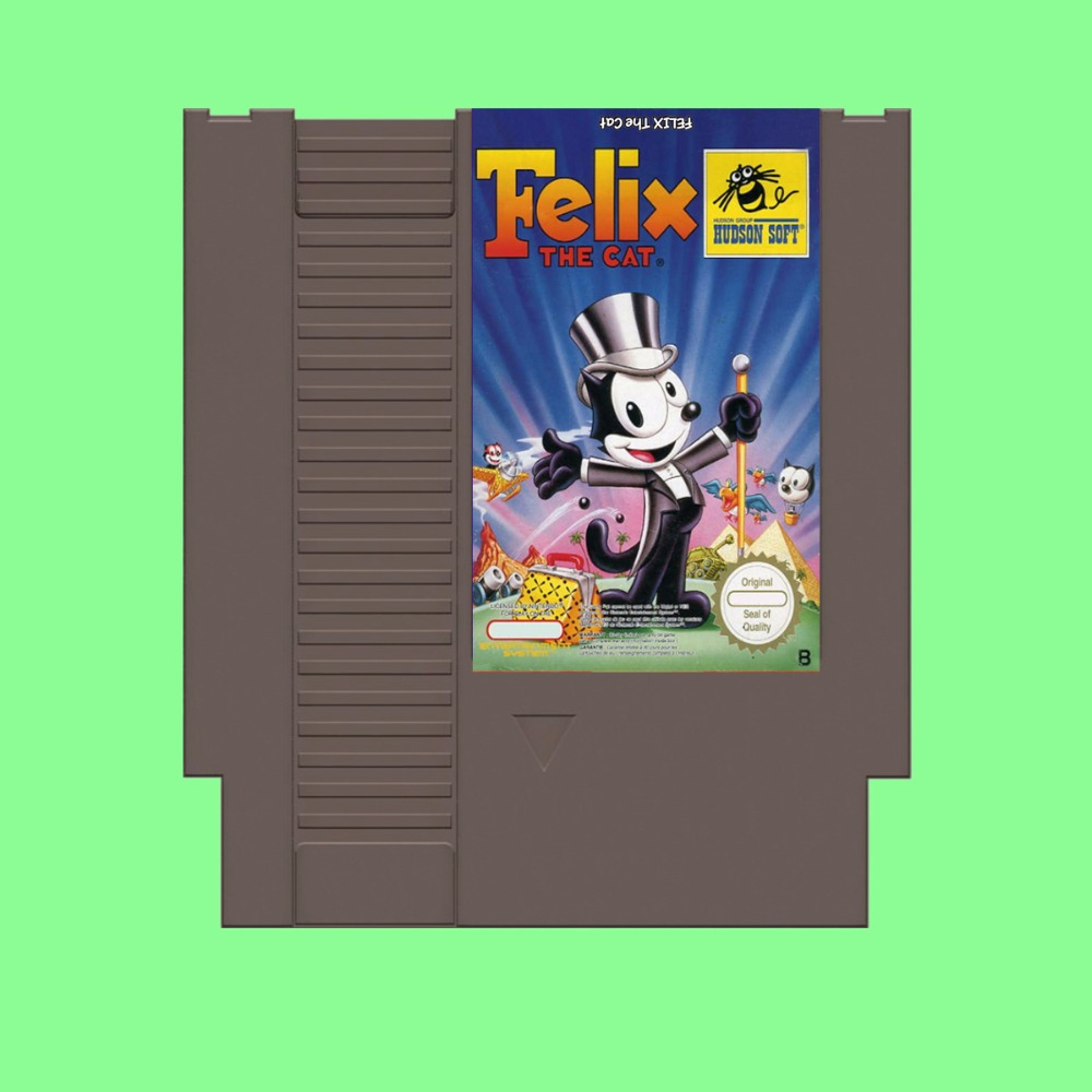 Best Sale Felix the cat Game Card For 72 Pin 8 Bit Game Player