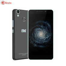 Despacho de THL T9 Smartphone Android 6.0 4G Phablet 5.5 pulgadas MTK6737 Quad Core 1 GB RAM 8 GB ROM Cámaras Duales de Huellas Dactilares Sensor