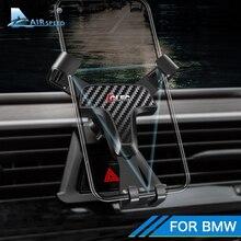 Velocidade do ar suporte do telefone móvel carro auto montagem especial para bmw f30 f32 f34 f10 f15 f16 f48 f39 g01 g30 g32 g02 acessórios