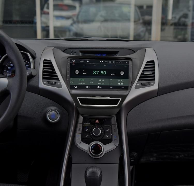 9 Octa Core Android 8 0 Car GPS Navigation Radio For Hyundai Elantra Avante 2013 Stereo