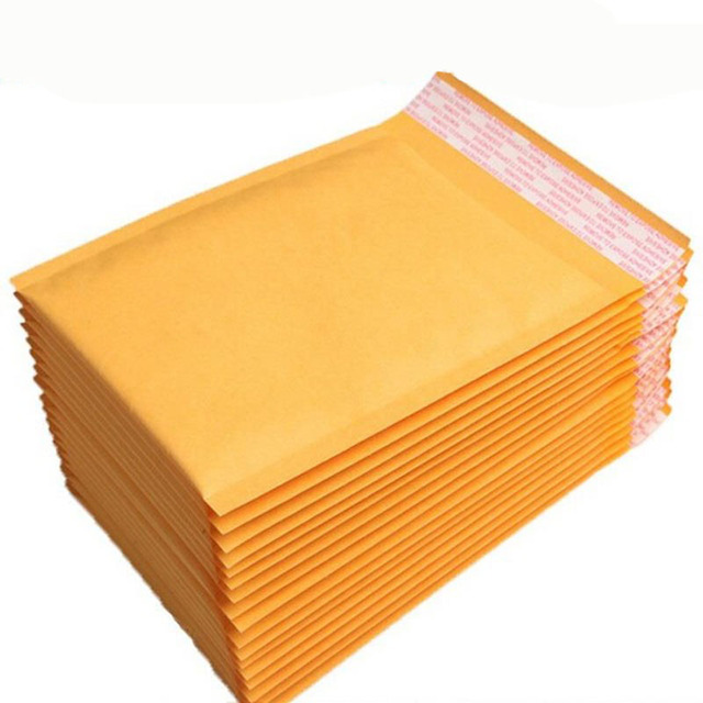 90x178mm Shipping Poly Mailer Post Parcel Bags Universal Envelopes Padded Mailing Kraft Bubble Bag Self Sealing
