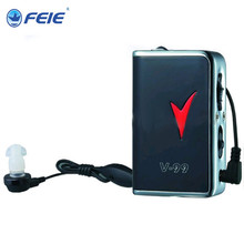 FEIE Deafness Device Import Business Ideas Sound Amplifier Analog Hearing Aid V-99 device for cleaning ears