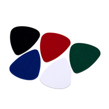 musical instrument thickness 0.5MM 24 guitar picks 1 box case acoustic electric bass pic plectrum mediator guitarra(China)