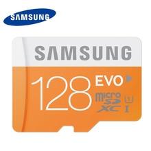 Samsung sd micro tarjeta de memoria de 16g 32g 64g microsd tarjetas sdhc sdxc Max 48 M/s EVO UHS-I 32 GB 64 GB C10 UHS-I TF Trans Flash Mikro tarjeta