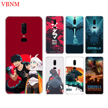 King Of Monsters Funny Phone Back Case For OnePlus 7 Pro 6 6T 5 5T 3 3T 7Pro 1+7 Art Gift Patterned Customized Cases Cover Coque