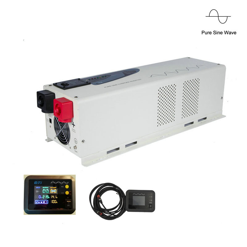 Free Shipping High Quality DC to AC Inverter 4000W  Low Frequency Caravan Inverter 4000W