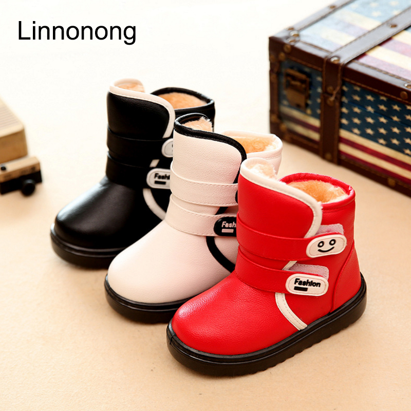 Winter-Kids-Plush-Snow-Boots-Children-Boys-Girls-Fashion-Boots-Antislip-High-Thick-Waterproof-Shoes-White-Black-Red-Child-Boots-5
