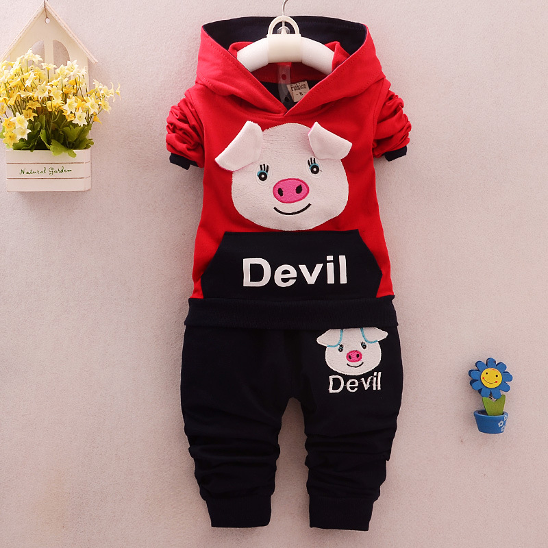 Child hood sweater 2016 spring autumn cartoon children s clothing baby smock hedging cute Korean boy