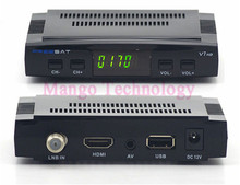 Selling Freesat V7 DVB-S2 Satellite TV Receiver Support PowerVu Biss Key Cccamd Newcamd Youtube Youporn USB Wifi Set Top Box