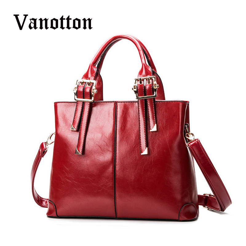 Fashion Luxury Brand Women Leather Tote Bag Candy Color Solid Messenger Bag Ladies High Quality Leather Handbag  Bolsas Feminina yuanyu 2018 new hot free shipping real python skin snake skin color women handbag elegant color serpentine fashion leather bag