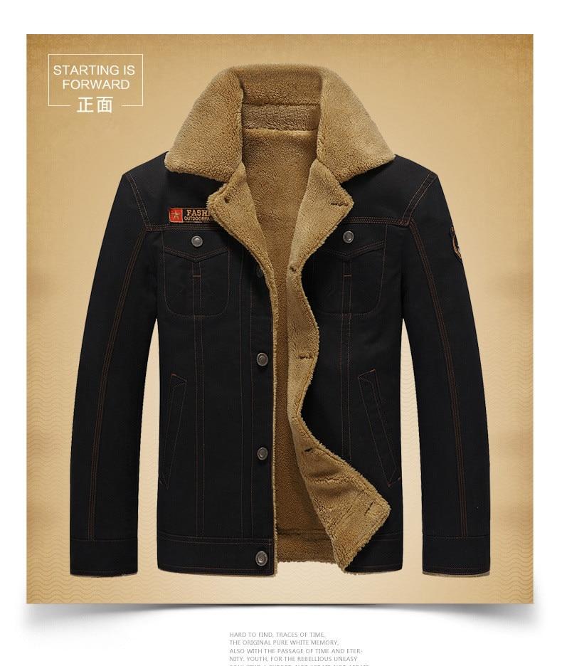 BOLUBAO Men Jacket Winter Military Bomber Jackets Jaqueta Masculina Coat Mens Black Bomber Jacket Male