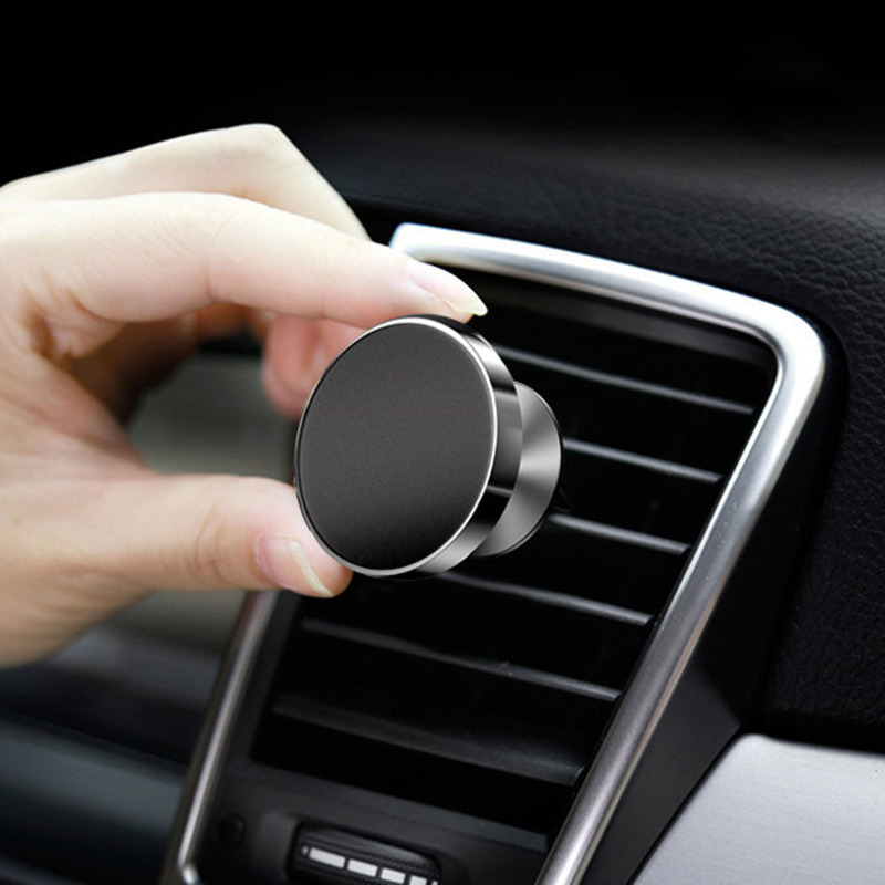 Magnetic Phone Holder For Xiaomi Redmi Note 7 Huawei Car GPS Air Vent Mount Magnet Cell Phone Stand Holder For IPhone X Samsung