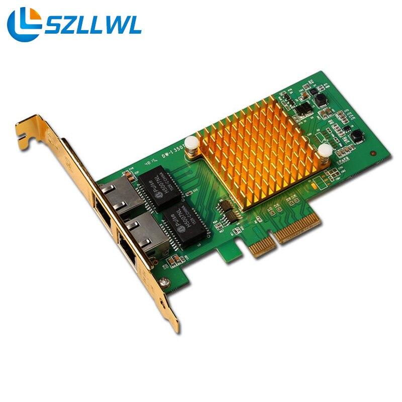 все цены на I350-T2 PCI-E server dual-port Gigabit Ethernet Intel i350t2 1000M network card Enterprise models large chassis file онлайн