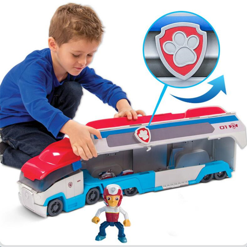 Paw Patrol Puppy Dog patrol car Cartoon Play Set toys Puppy Action Figure Patrulla Canina Juguetes kids toy Genuine Hot рюкзак lowe alpine lowe alpine manaslu nd 55 65 л женский темно красный 55 65