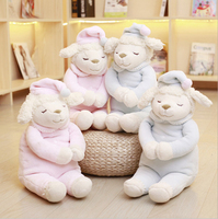 Lovely couple Dudu sheep doll child comfort doll sleepy little sheep plush toy gift