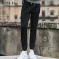 Military Rushed Regular 2016 New Hottest Drawstring Men Pants Appliques Pencil Slim Fit Plus Size Sweatpants M-xxxl Wl68818wk