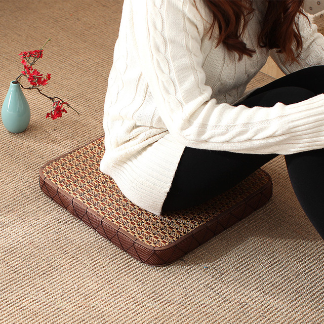 Summer Futon Cushion Meditation Circle Japanese Style Large Floor Cushions  Seat Tatami