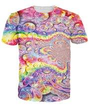 Rainbow Bubbles T-Shirt Women Men 3D T Shirt Pullover Printed Tops Tees Fashion Summer Clothing Custom Printed Hip Hop 5XL R2855