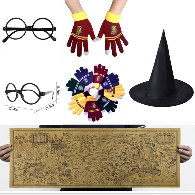 Harry Potter Magic World Map Kraft papir Cosplay naočale College - Igračke figurice - Foto 1