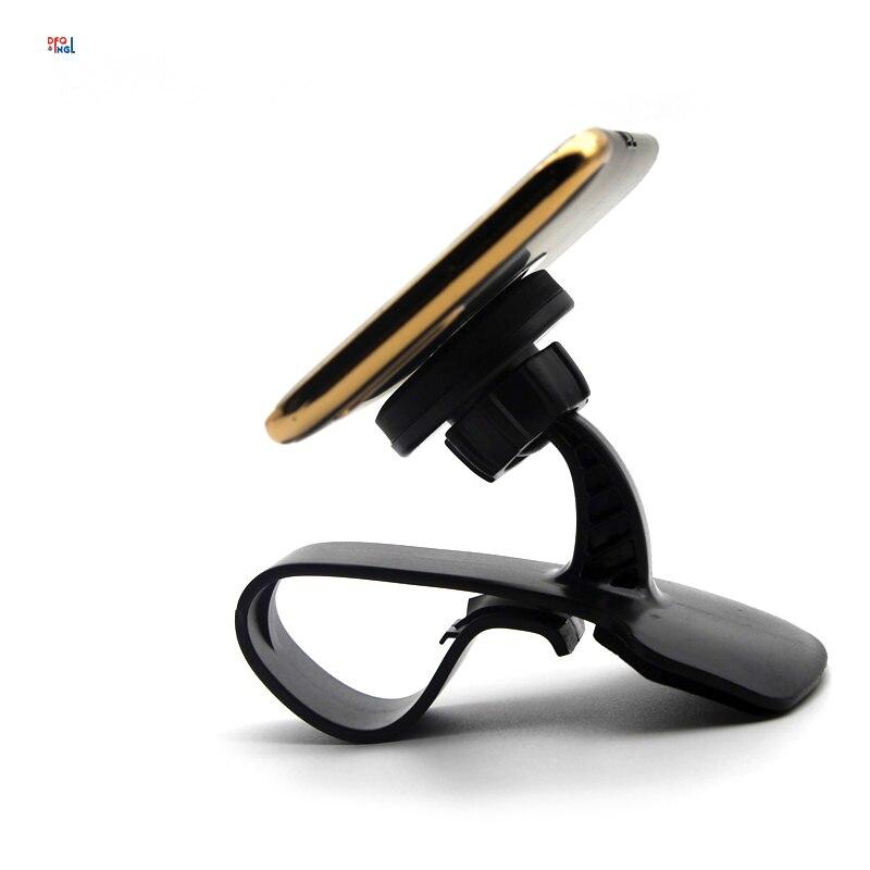 DFQNGL Magnetic Car Holder Clip Mount Dashboard Car Phone Holder Magnet Car Holder 360 Rotatable Stand Mount Display GPS Bracket