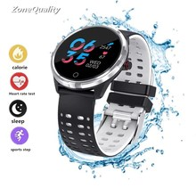 ZoneQuality x7 Bluetooth Smartwatch Waterproof IP68 Heart Rate Blood Pressure Blood Oxygen Smart Watch for iOS Android PK Xiaomi