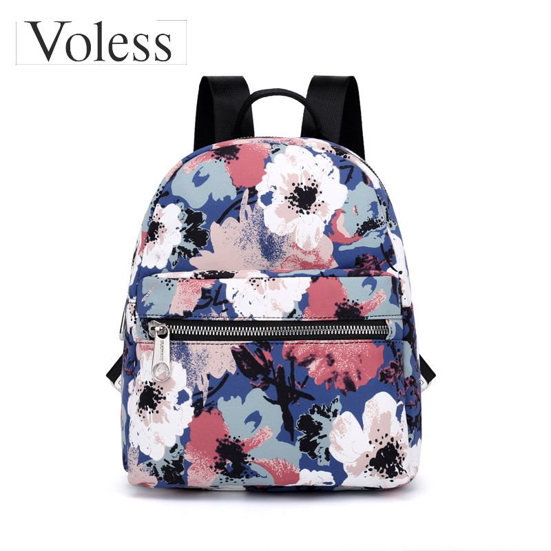 Floral, For, Bags, Nylon, Printing, Girls