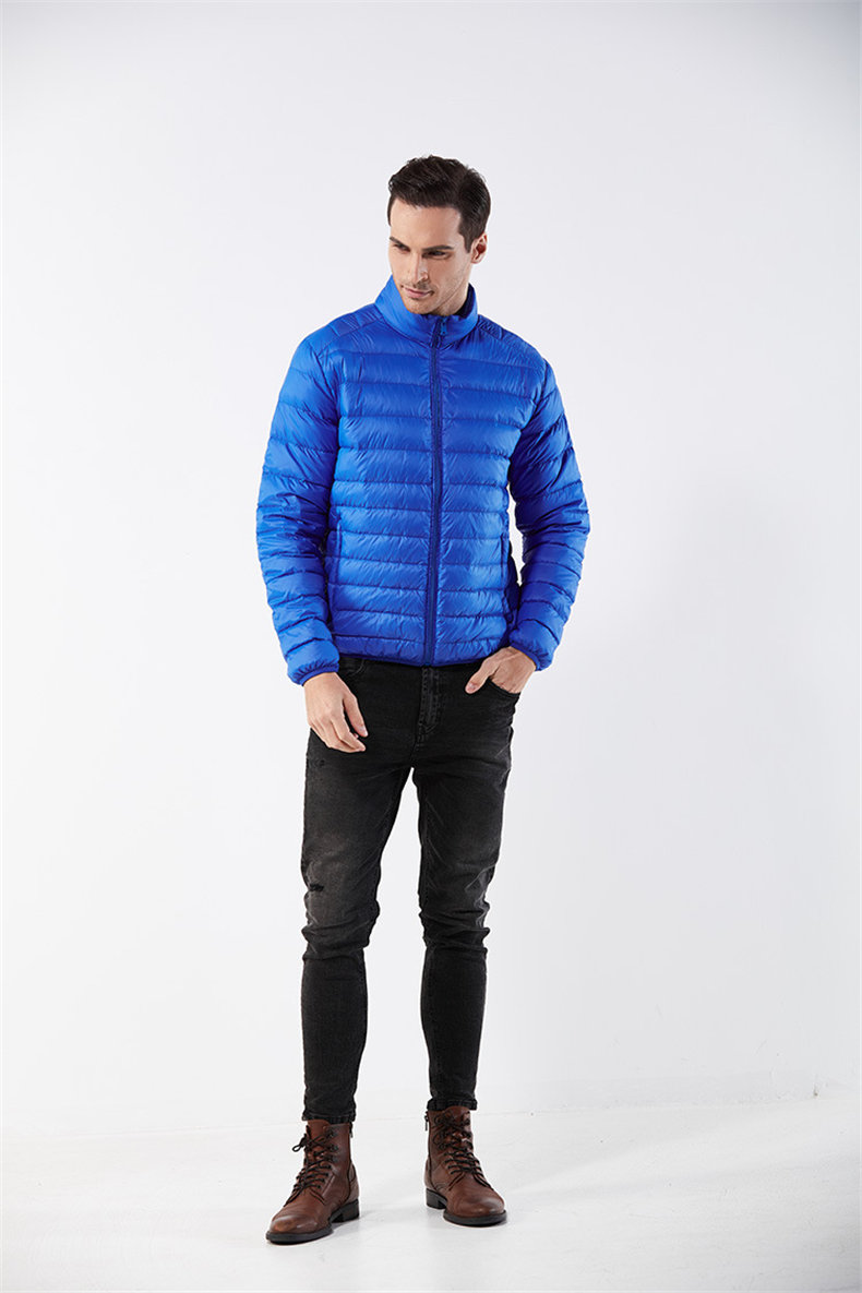 Customized White Duck Down Jacket Men Winter Ultralight Light Male Parka Coats Man Brand Clothing Water Resistant Outwear Autumn6